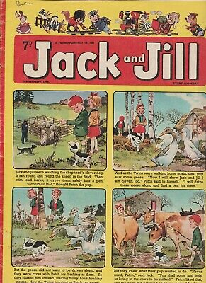 2  OLD   JACK and JILL  COMICS...1966....NICE  +  CLEAN....LOT  3