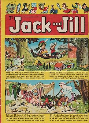 2  OLD   JACK and JILL  COMICS...1965....NICE  +  CLEAN....LOT  4