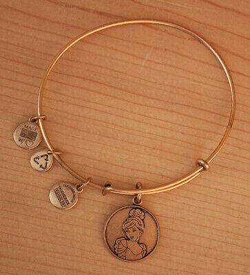 Disney Parks Cinderella Bangle Bracelet - Alex and Ani charm bracelet made in US