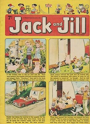 2  OLD   JACK and JILL  COMICS...1965....NICE  +  CLEAN....LOT  7
