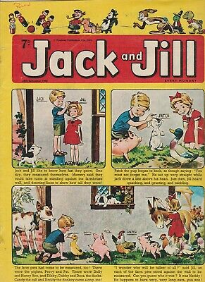 2  OLD   JACK and JILL  COMICS...1965....NICE  +  CLEAN....LOT  8