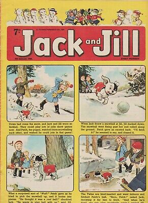 2  OLD   JACK and JILL  COMICS...1966....NICE  +  CLEAN....LOT  1