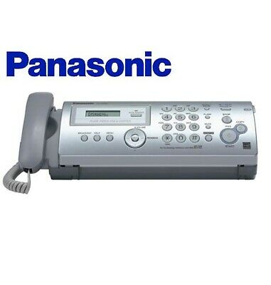 Panasonic Plain Paper Fax Copier with Caller ID Home Office FP205