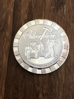 1 Ounce Oz SILVER BULLION Towne .999 Fine Pure Bar Round Coin