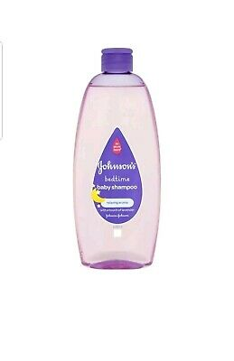** 6 X Johnsons Bedtime Baby Shampoo 500Ml Lavender No More Tears New **