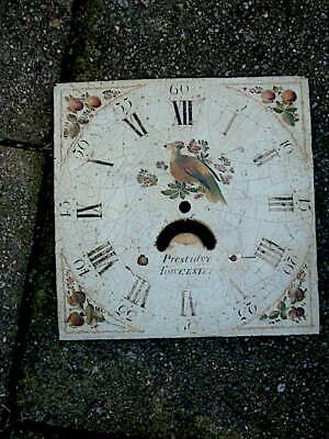 C1830 Longcase Grandfather Clock Dial 11X11 Inch