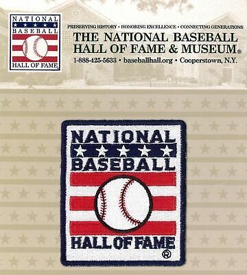 National Baseball Hall of Fame MLB Induction Primary Official Logo Patch
