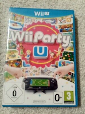 Wii Party U (Nintendo Wii U, 2013, DVD-Box)
