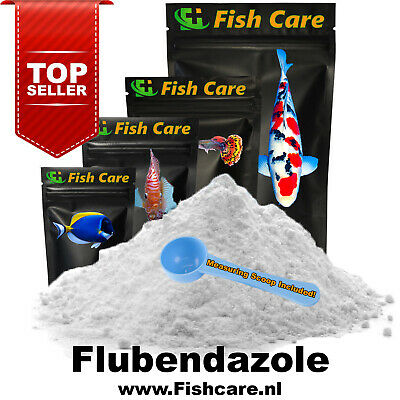 Fish Wormer Plus | Aquarium & Pond | 10 Grams | The Official Fishcare™ Products