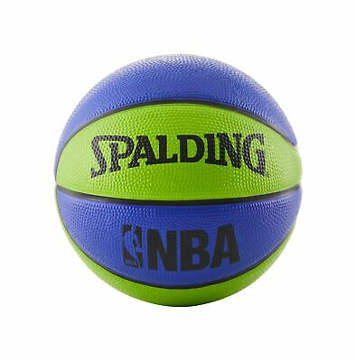 7a1dfb87d25 Spalding NBA Mini Basketball Blue Green