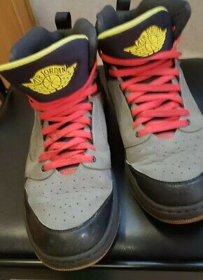 best website fa529 52a8a Nike Air Jordan Sixty Club 535790-016 Black Red Yellow Shoes Mens Sz 13  sneaker