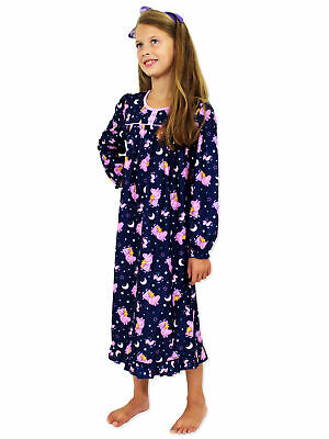 Elena of Avalor Girls Flannel Granny Gown Nightgown 21EA034GGL