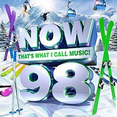 Various Artists-Now Thats What I Call Music 98 CD NUOVO