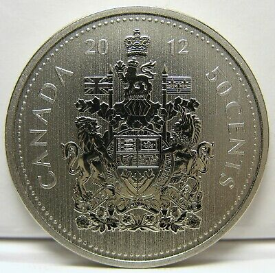 RCM - 2012 - 50-cents - Coat of Arms - Specimen - Uncirculated