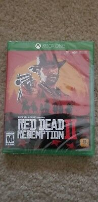 XBOX ONE Red Dead Redemption 2 BRAND NEW SEALED