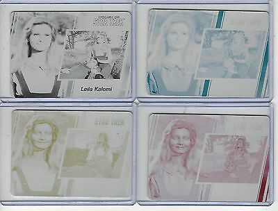 Women of Star Trek 2017 50th Anniversary Printing Plate Base #17
