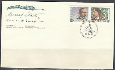 Canada Scott 1244a FDC - Canadian Poets Issue