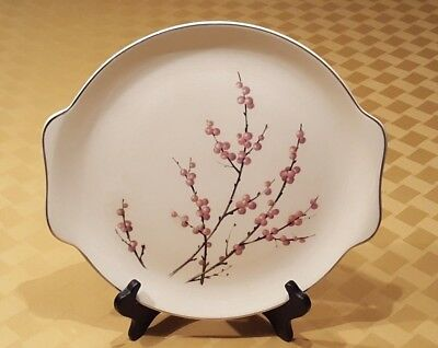 Springtime Harmony House Cake Plate 'Pussy Willow – Cherry Pink' Pattern – 56Y