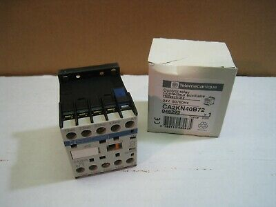 Telemecanique Control Relay CA2KN40B72 **New In Box**