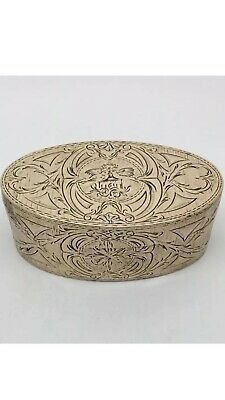 Magnificent 18th Century French Pinchbeck Gold Snuff Box Love Birds C1780
