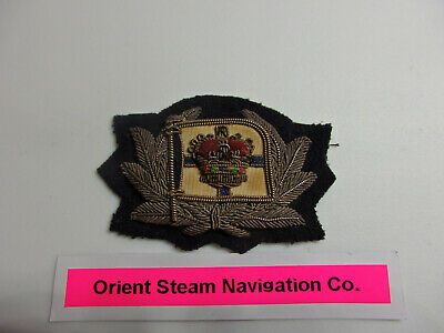 "Merchant Navy officers badge ""Orient Line.""  London  1797-1966"