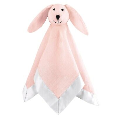 aden by aden + anais solid pink mist lovey musy mate security blanket