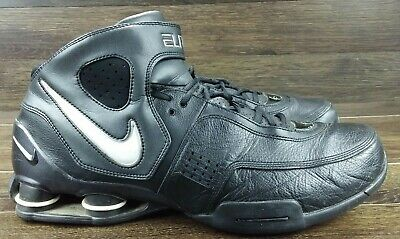 fe295653d097 2006 Nike Shox Elite Tb Black White Chrome Silver Bb4 Vc 314184-010 Sz15