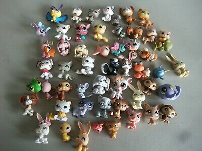 Littlest Pet Shop LPS Figure Lot of 50