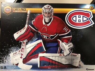 2018-2019 NHL Fathead Tradeables Carey Price Montreal Canadiens Decal Sticker