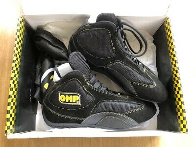 NEW OMP KARTING RACE BOOTS  Size 40 BOXED