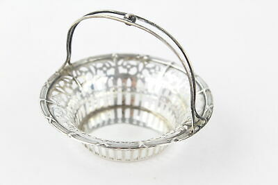 Antique Hallmarked 1909 Birmingham Sterling Silver Sweetmeat BASKET (43g)