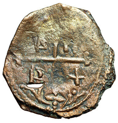 """RARE Crusarders Coin of Tancred 1101-1112 AD """"Facing Christ & Cross Pattee"""""""