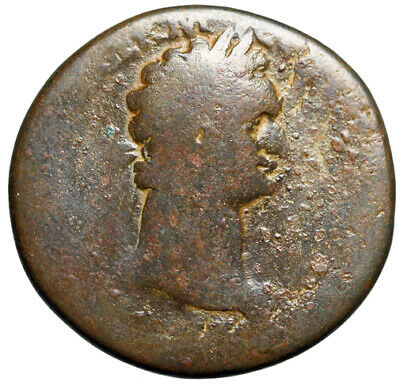LARGE Sestertius Roman Coin of Domitian Emperor of Rome 81-96 AD CERTIFIED