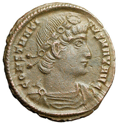 HIGH QUALITY Constantine I The Great Roman Coin With Detailed Portrait CERTIFIED