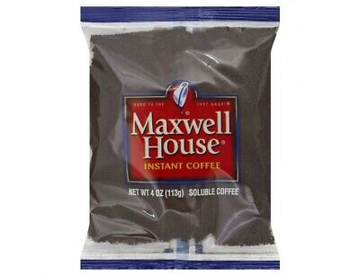 Maxwell House Instant Coffee Packets, 4 oz. Packets (Pack of 24)