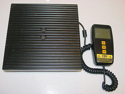 CPS CC220 COMPUTE-A-CHARGE 220 lb Refrigerant Scale AS-IS