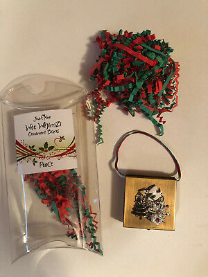 Just Nan Wee Whimzi Ornament Box- Peace- No longer Available