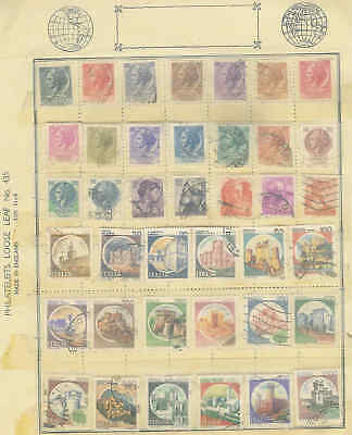 F23 A Nice Selection of Vintage Italy stamps (39)