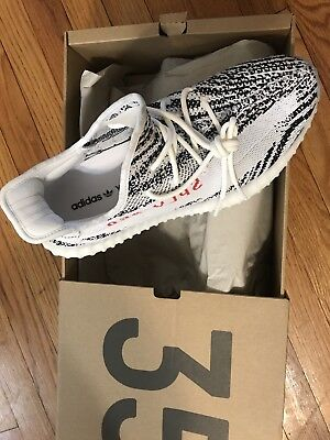 ead993f53ccf44 NEW in Box ADIDAS YEEZY Kanye West Boost 350 V2 Zebra Size 11 100% AUTHENTIC