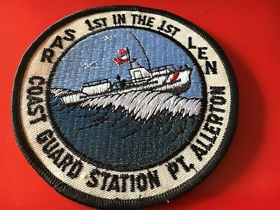 US Coast Guard Pt. Allerton patch USCG Massachusetts