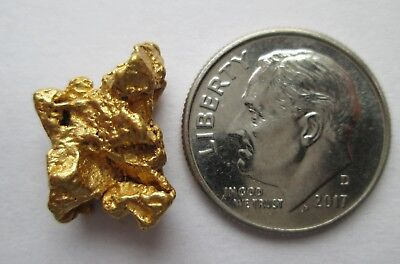 4.210 Gram Great Quality High Purity Natural Australian Gold Nugget, # CG 5016