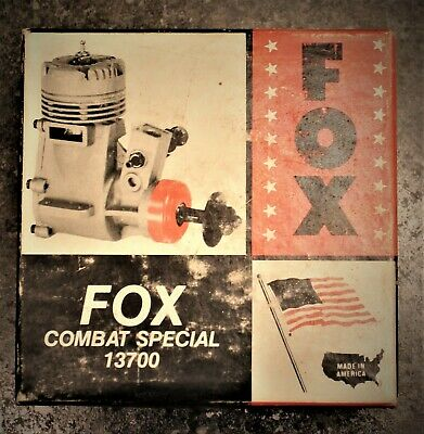 """Fox Combat Special """"box Only"""" No Engine """"box Only"""""""