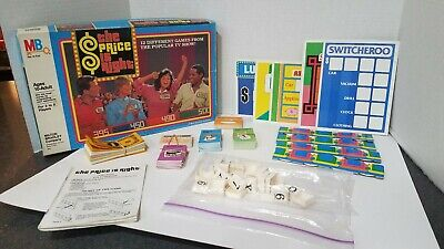 The Price Is Right Board Game 1986 Milton Bradley Made in USA Complete