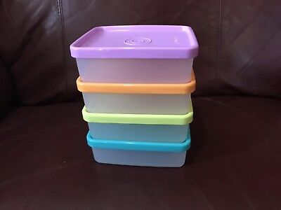 NEW Tupperware Snack on the Go set of 4x160ml