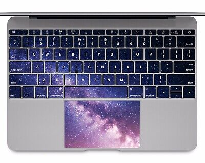 Macbook Pro Air 13 15 keyboard Stickers cover Decal Skins Galaxy space KB017