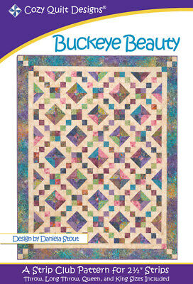 Buckeye Beauty Quilt Pattern By Cozy Quilt Designs