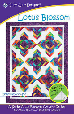 Lotus Blossom Quilt Pattern By Cozy Quilt Designs