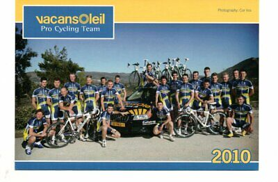 wielrennen-cycling-cyclisme : VACANSOLEIL 2010 / TEAMPHOTO