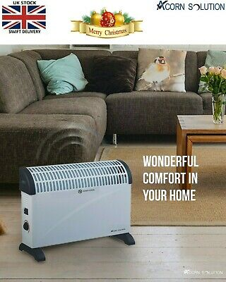 Acorn Solution Electric Convector Heater 2 kw Free Standing 2000W