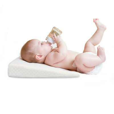 Anti-allergy Egyptian Cotton Cot Bed Pillow Baby Soft Crib Pillow Nursing Pillow
